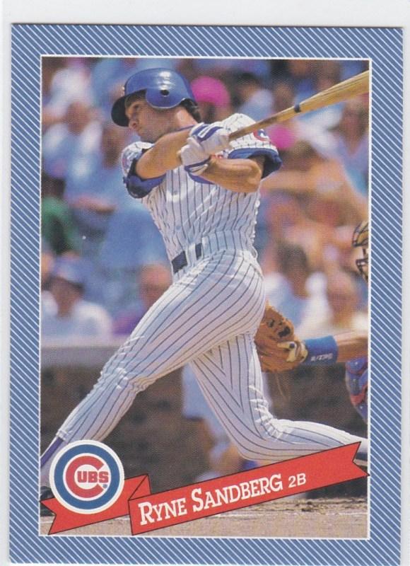 1993 Hostess Baseball Ryne Sandberg