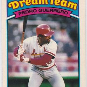 1989 K-Mart Dream Team Pedro Guerrero