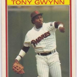 1986 Kay Bee Superstars Tony Gwynn