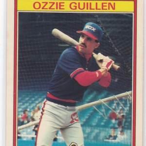 1986 Kay Bee Superstars Ozzie Guillen