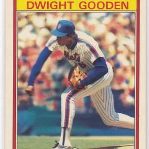 1986 Kay Bee Superstars Dwight Gooden