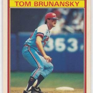 1986 Kay Bee Superstars Tom Brunansky
