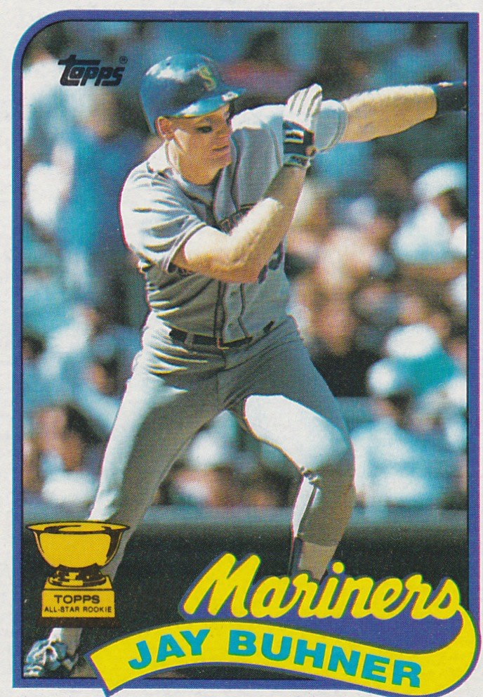 1989 Topps Jay Buhner