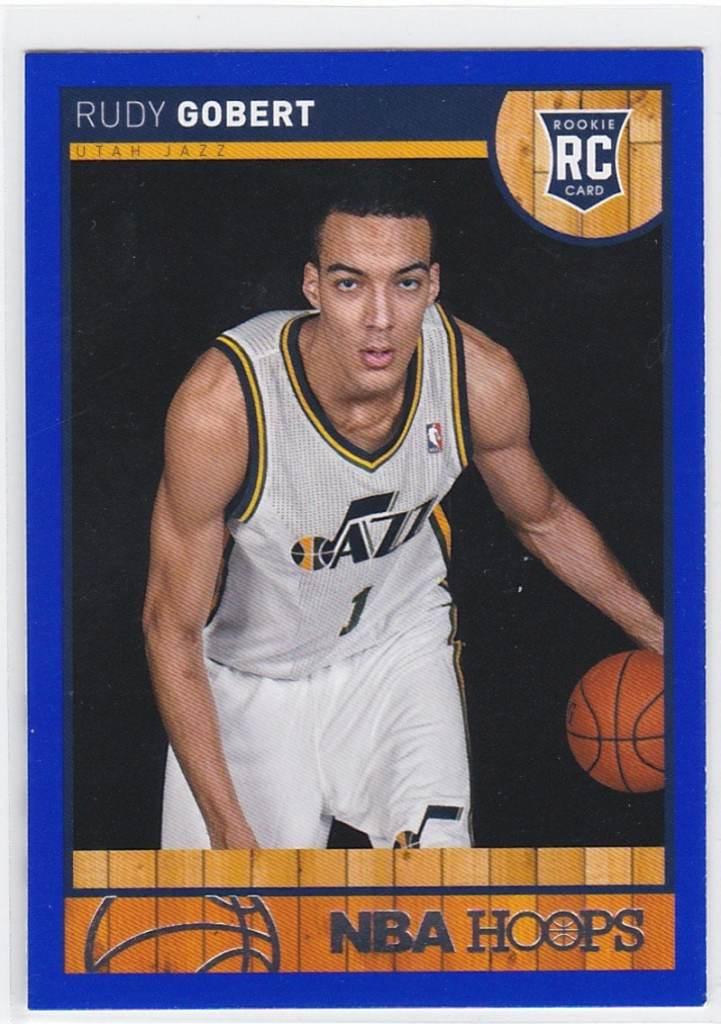 2013-14 NBA Hoops Blue Rudy Gobert RC