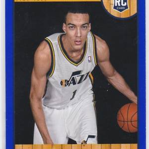 2013-14 NBA Hoops Blue Rudy Gobert RC