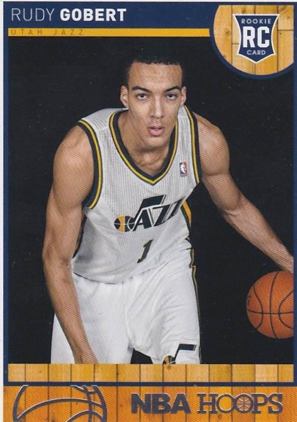 2013-14 NBA Hoops Rudy Gobert RC