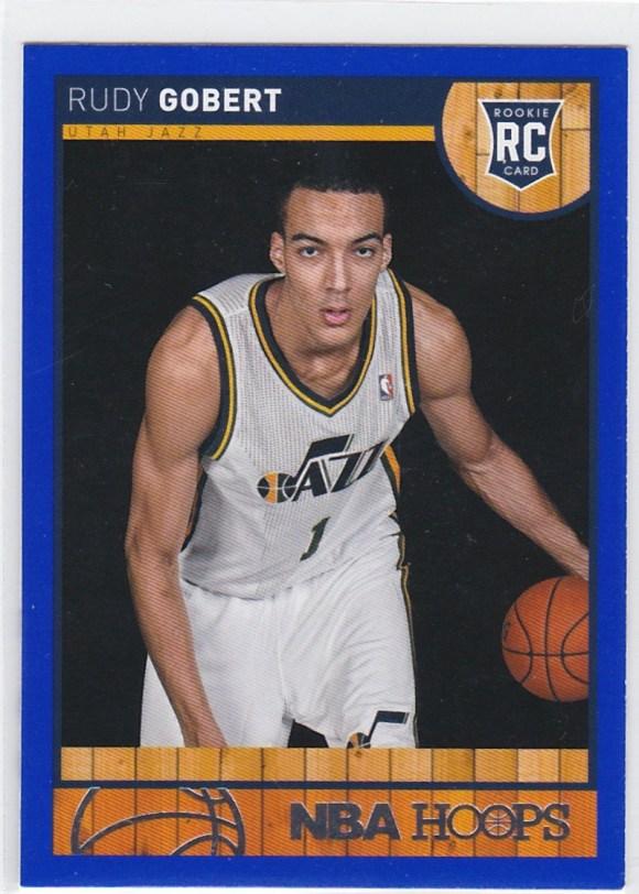 2013-14 Panini NBA Hoops Blue Rudy Gobert RC