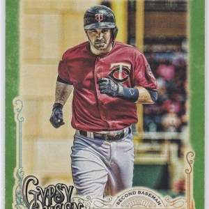 2017 Topps Gypsy Queen Green Brian Dozier