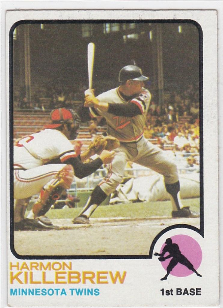 1973 Topps Harmon Killebrew