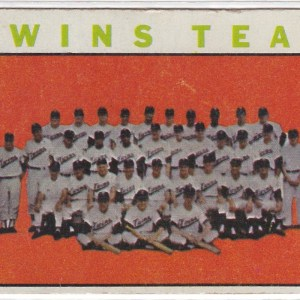 1964 Topps Twins Team
