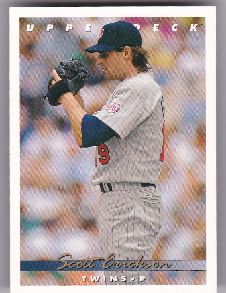 1993 Upper Deck #397 Scott Erickson