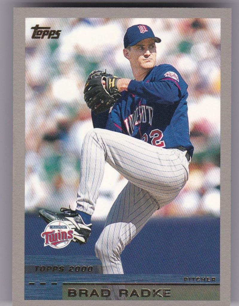 2000 Topps #14 Brad Radke