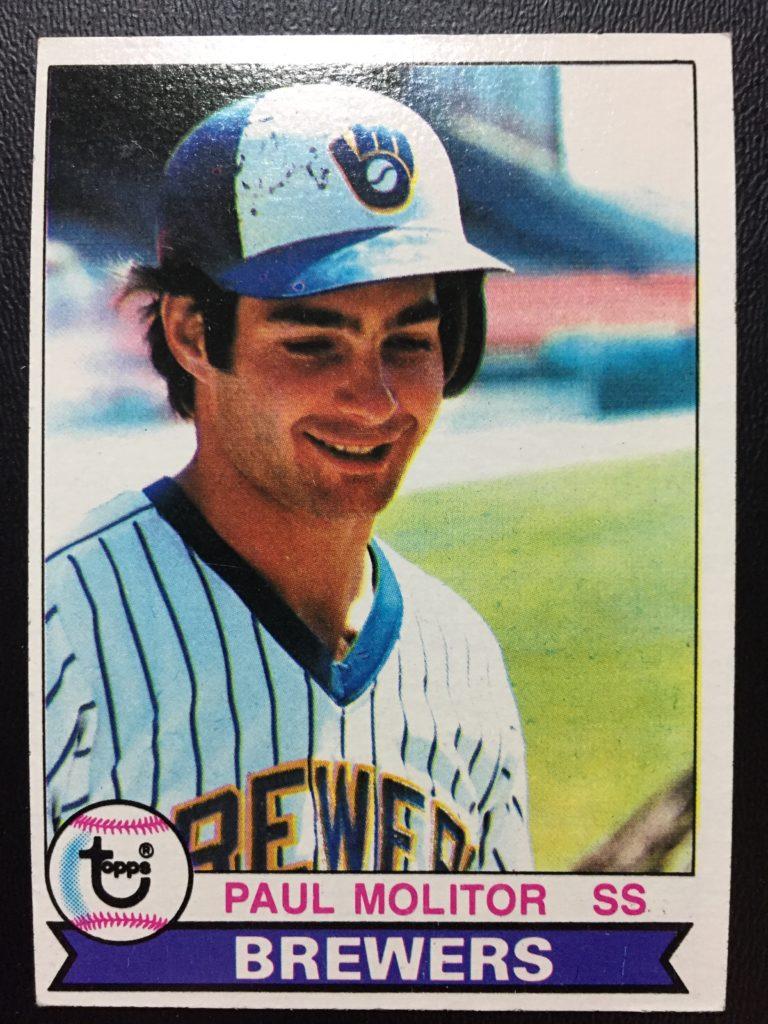 1979 Topps #24 Paul Molitor