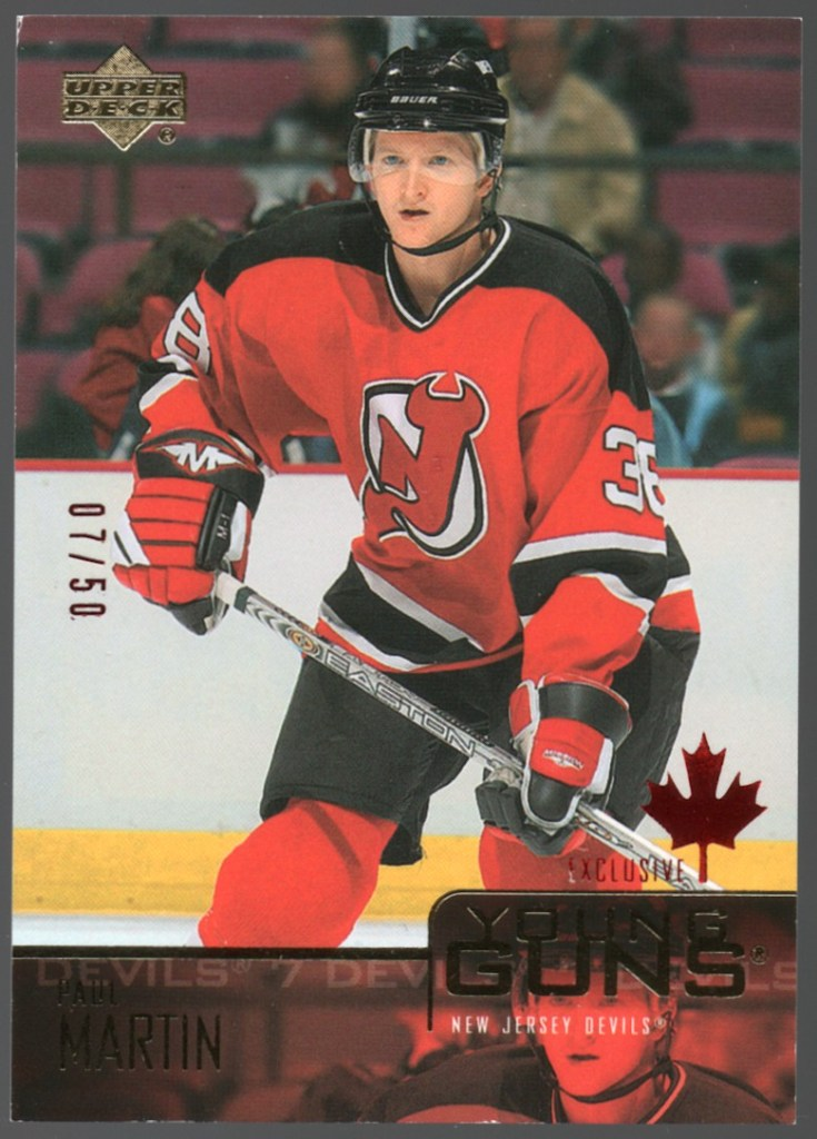 2003-04 Upper Deck Canada Exclusives #229 Paul Martin /50