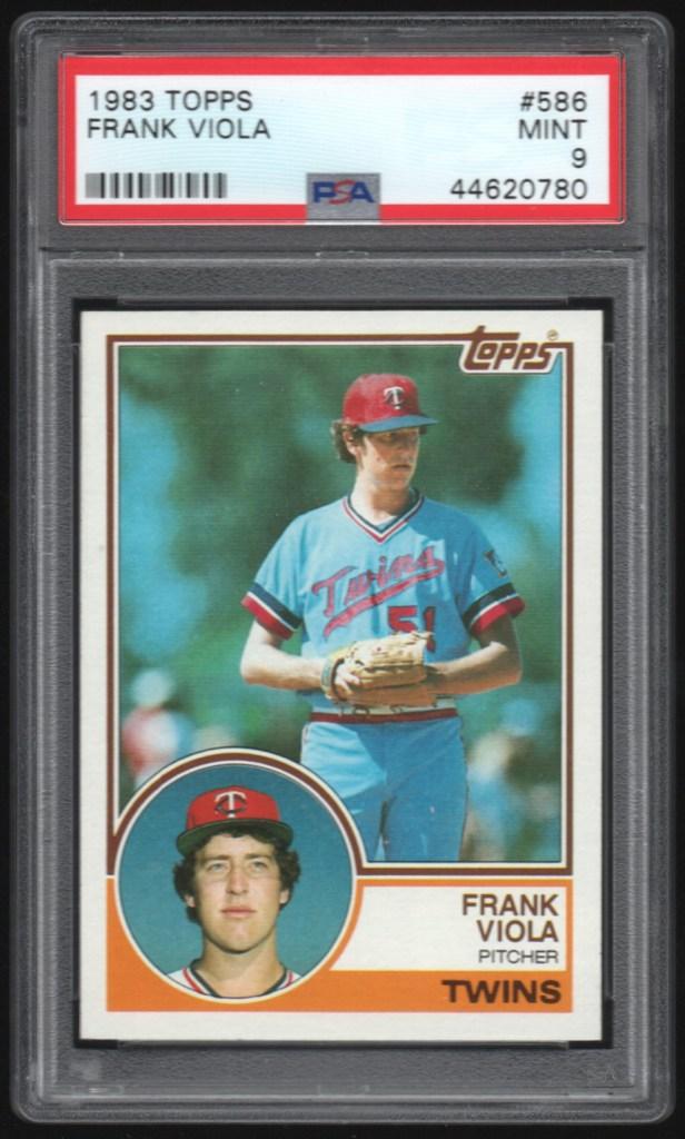 1983 Topps #586 Frank Viola