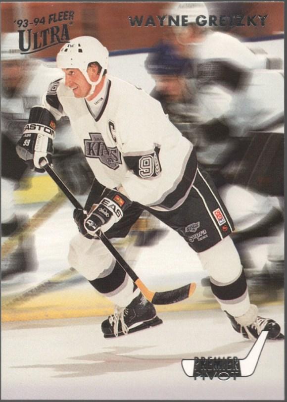 1993-94 Fleer Ultra Premier Pivot #2 Wayne Gretzky