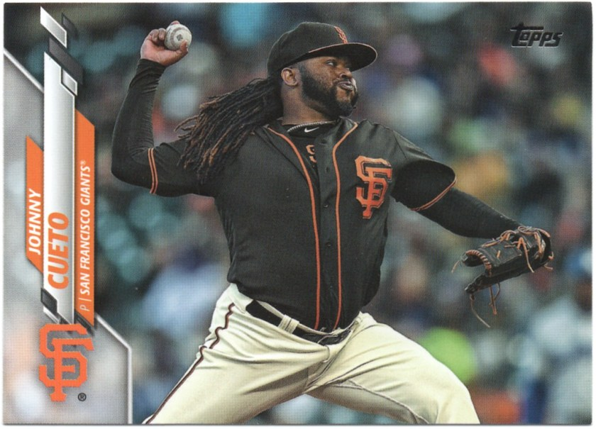 2020 Topps Series 1 #185 Johnny Cueto