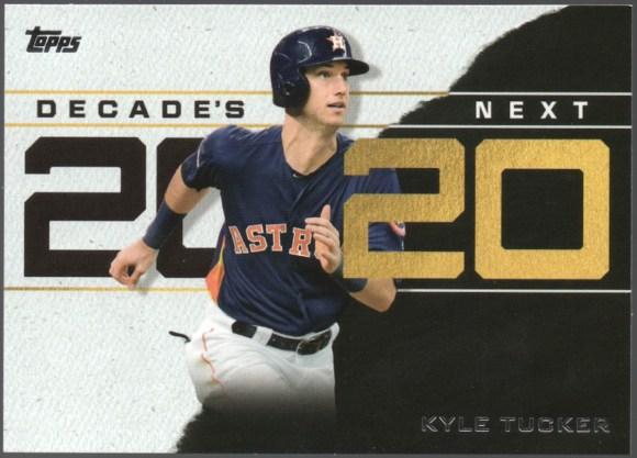2020 Topps Series 1 Decade's Next #DN-14 Kyle Tucker