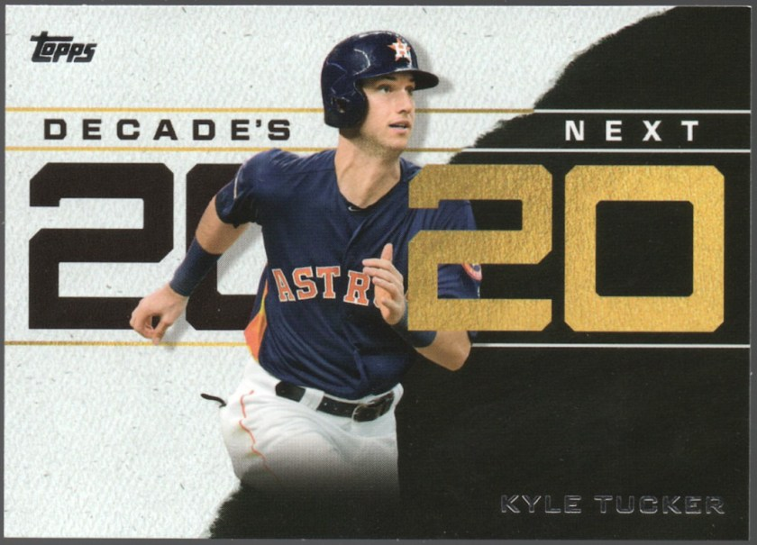 2020 Topps Series 1 Decade's Next #DN-14 Kyle Tucker