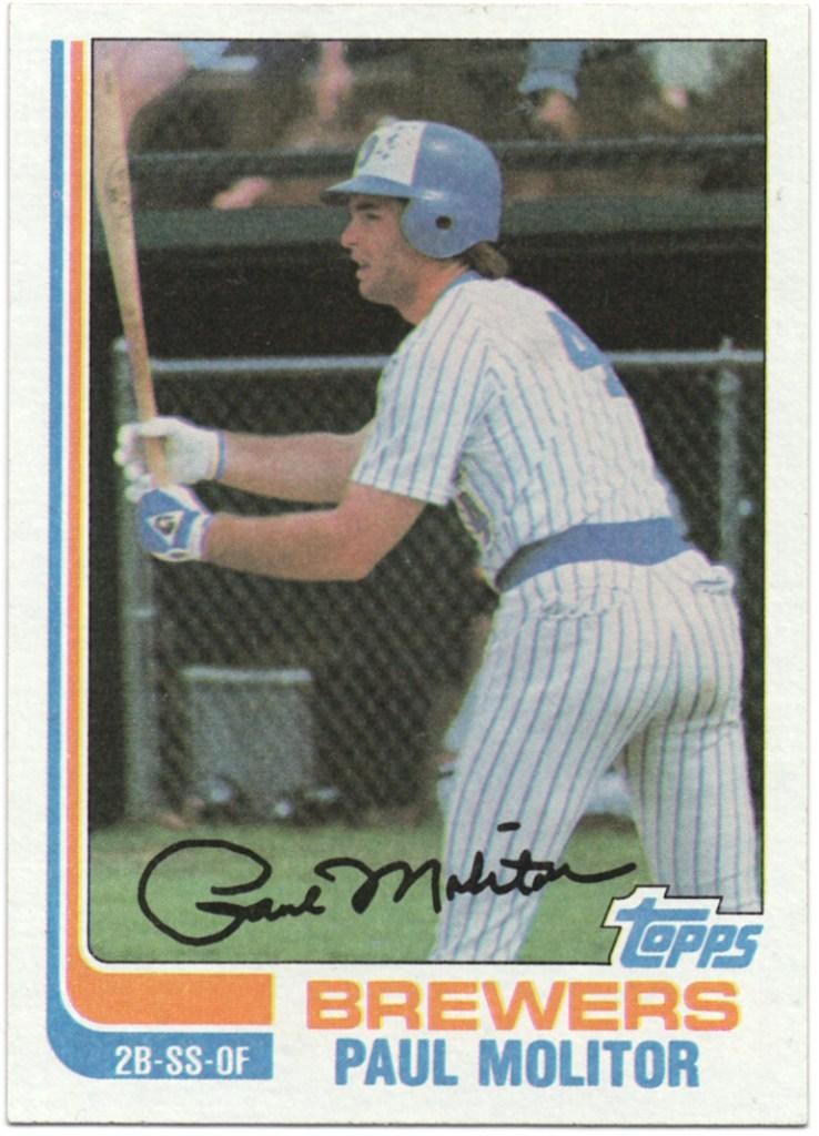 1982 Topps #195 Paul Molitor