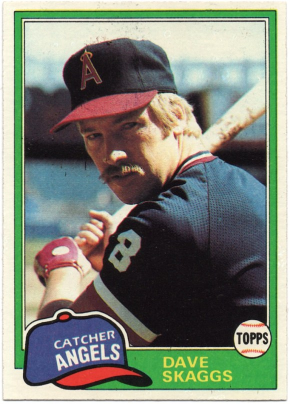 1981 Topps #48 Dave Skaggs