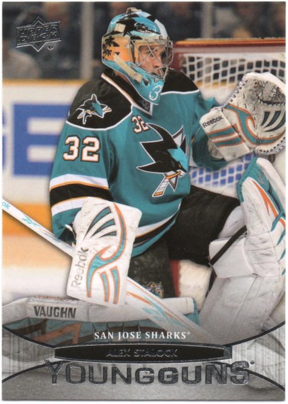 2011-12 Upper Deck #239 Alex Stalock