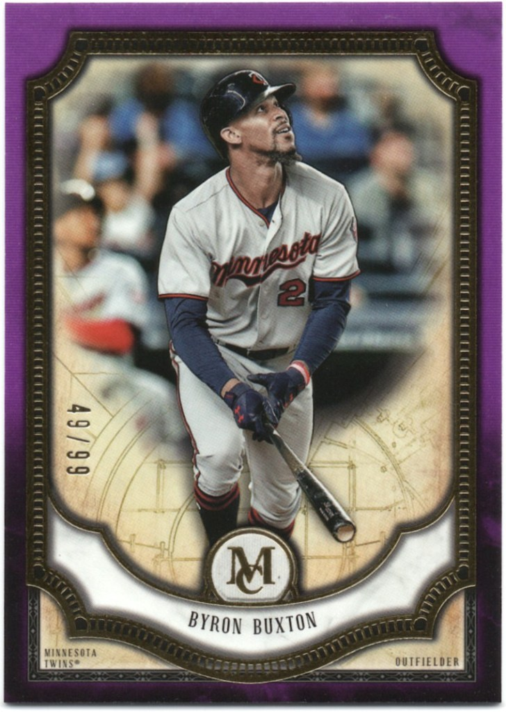 2018 Topps Museum Collection - Amethyst #71 Byron Buxton /99