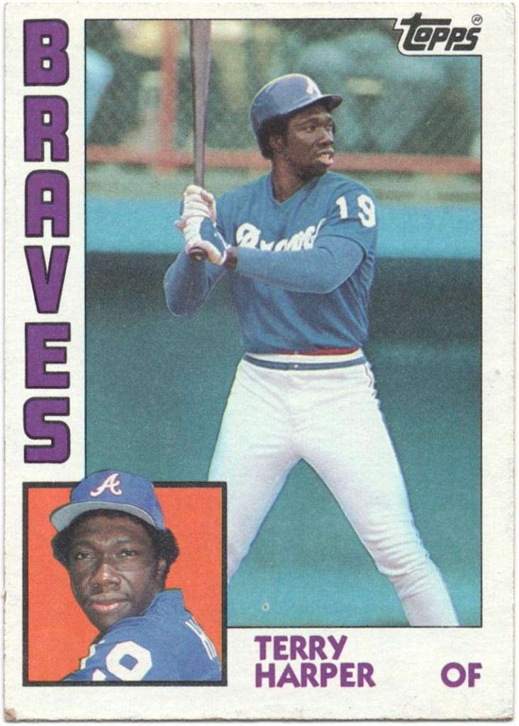 1984 Topps #624 Terry Harper