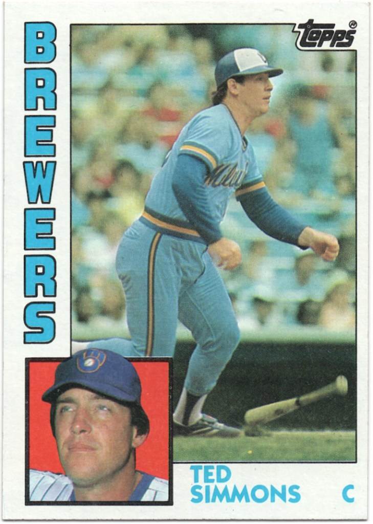 1984 Topps #630 Ted Simmons