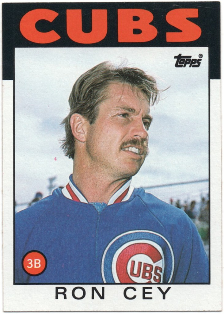 1986 Topps #669 Ron Cey