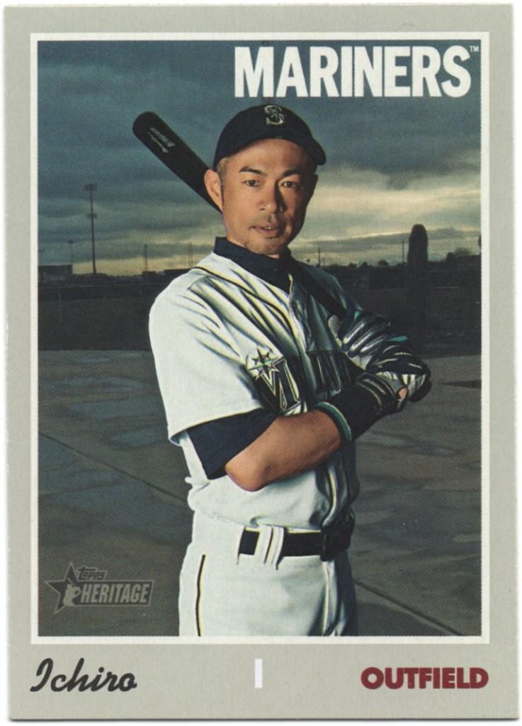 2019 Topps Heritage #725 Ichiro Suzuki