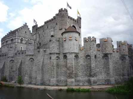 't Gravensteen, the castle of the counts