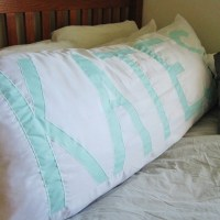 Whats in a Name? {Reverse Applique Body Pillow DIY ...