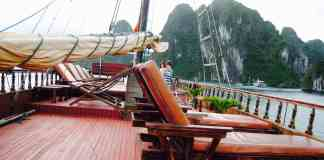 Houseboat Halong Bay Deck View