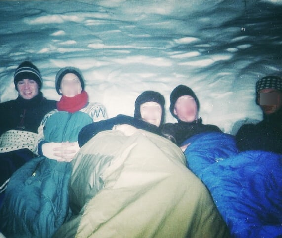 Inside The Snow Cave