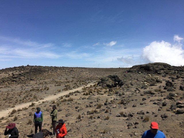 Kilimanjaro Day 3 Route To Lava Tower