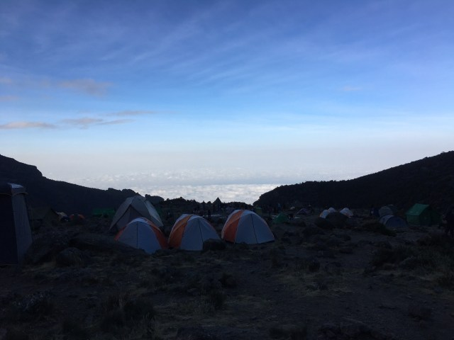 Kilimanjaro Day 4 Baranco Camp