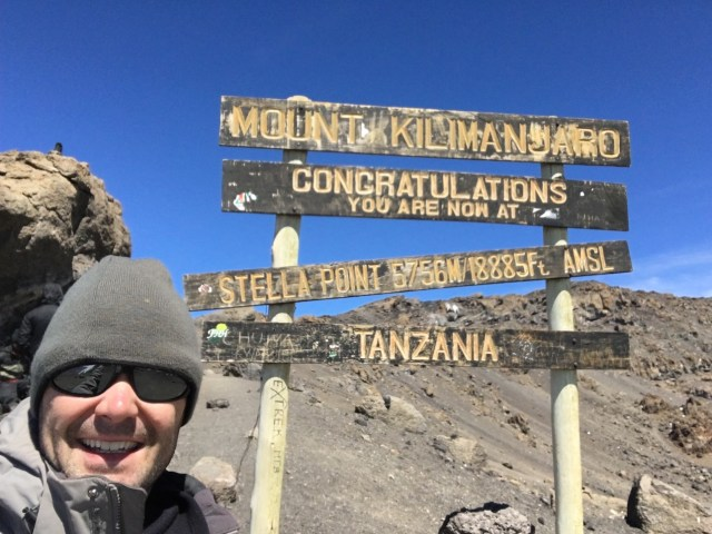 Kilimanjaro Day 6 Summit Day Stella Point 2