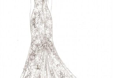 Vintage Lace Wedding Dress Brighton