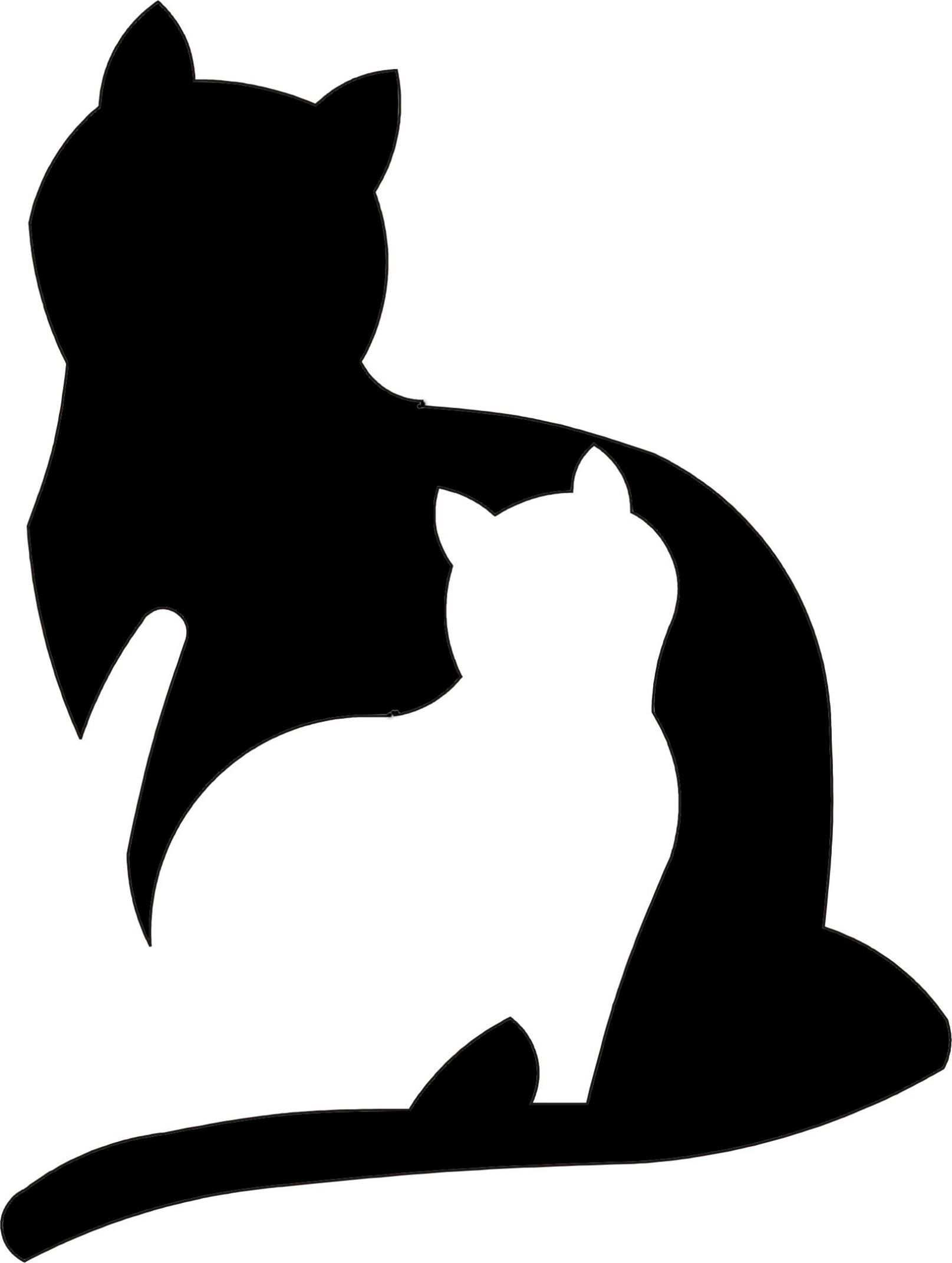 Katze Vorlage Zum Ausschneiden