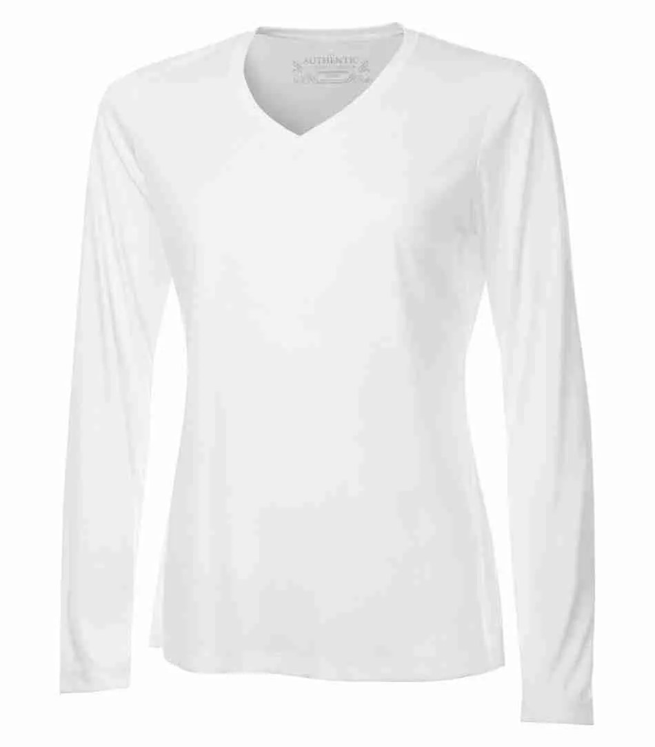ATC PRO TEAM LONG SLEEVE V-NECK LADIES' TEE L3520LS