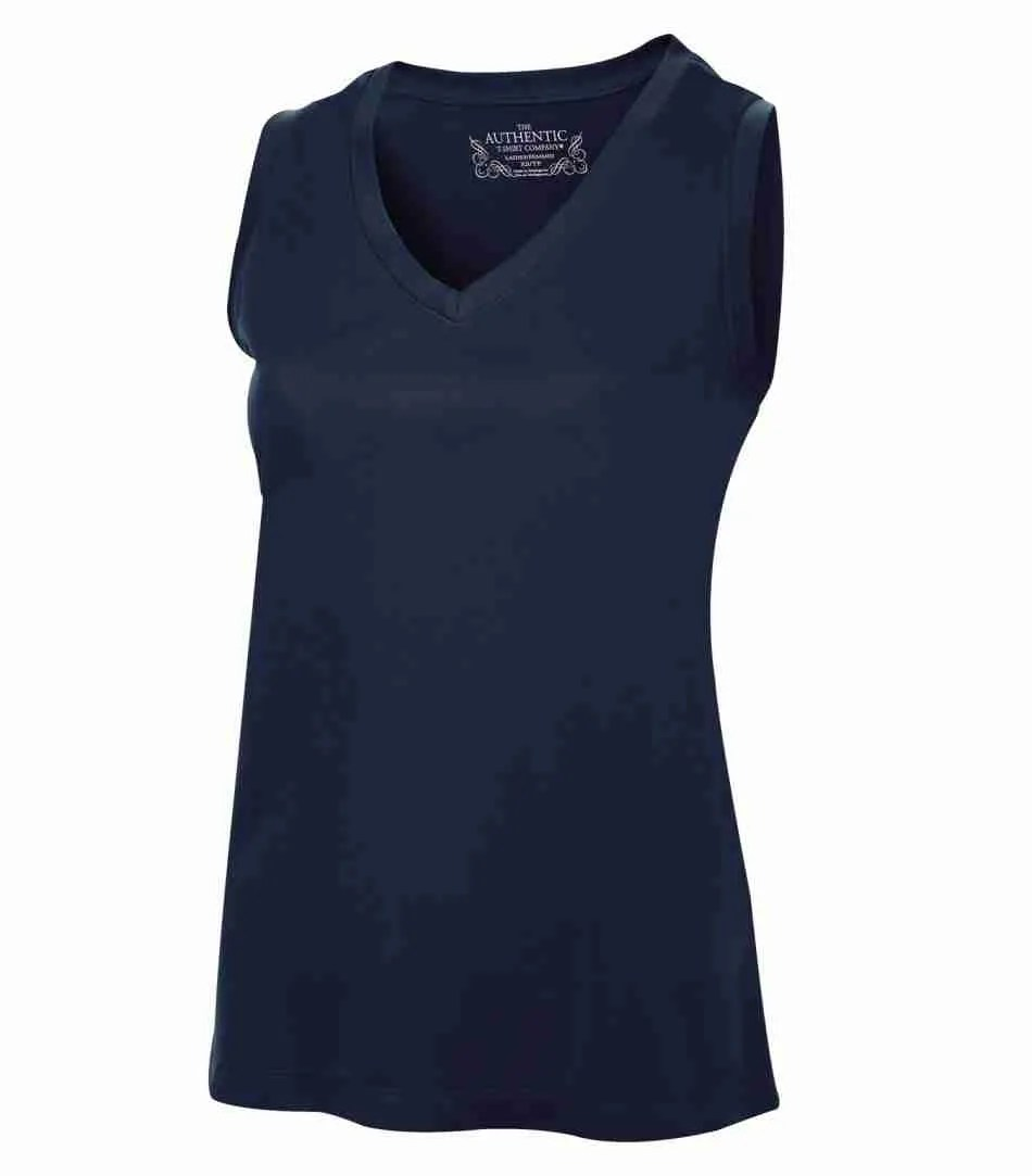 ATC PRO TEAM SLEEVELESS V-NECK LADIES' TEE L3527