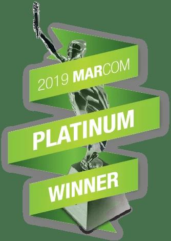 MarComm Platinum Award Winner logo
