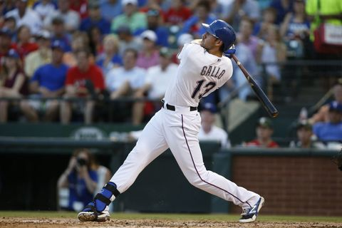 Tim Heitman-USA TODAY Sports. Video: Joey Gallo home run.