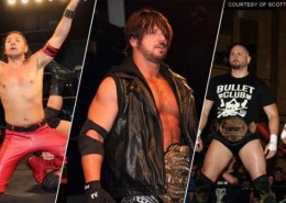 Shinsuke, AJ Styles, Gallows and Anderson