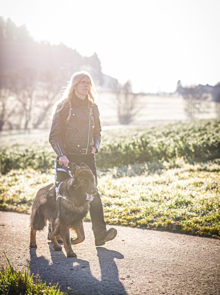 Basel und Region - draussen in der Natur mit meinem Blindenhund | baselundregion.ch