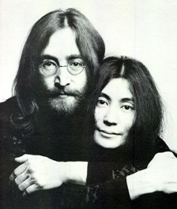 Photo of John and Yoko