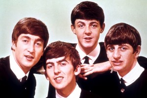 The Beatles (ca. 1963) Shown from left: John Lennon, George Harrison, Paul McCartney, Ringo Starr