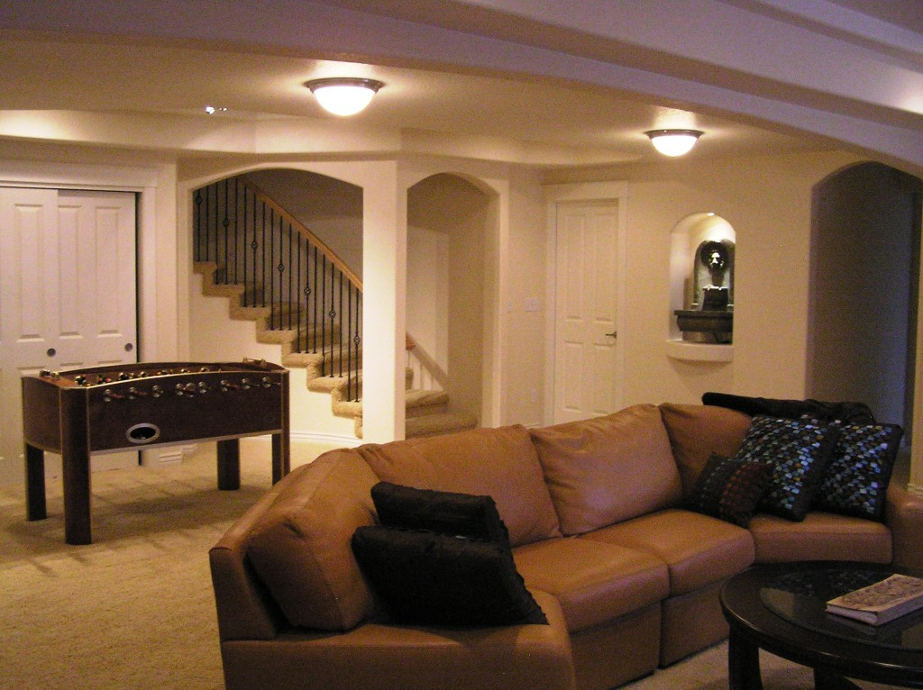 Basement design photo gallery of finished basement designs usa for Blueprint photo gallery
