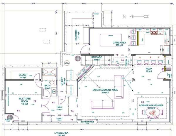 Basement Design PREPLAN5